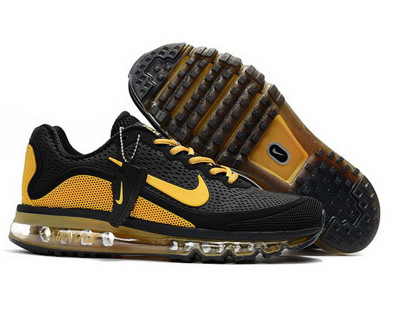 Mens Nike Air Max 2017.5 Black Yellow Canada