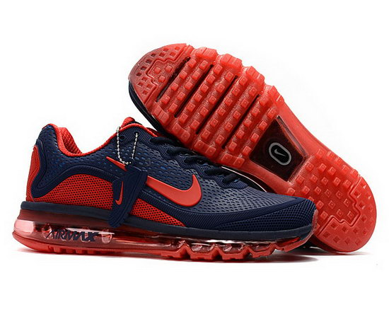 Mens Nike Air Max 2017.5 Dark Blue Red Coupon Code