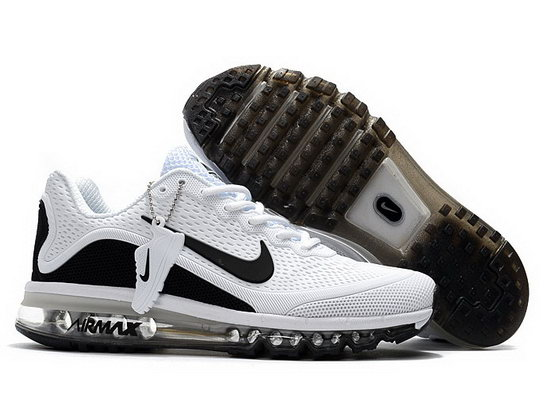 Mens Nike Air Max 2017.5 White Black Portugal