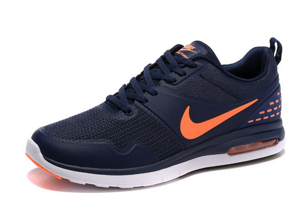 Mens Nike Air Max 87 Sb Dark Blue Orange Closeout