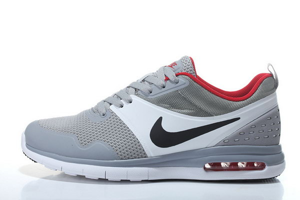 Mens Nike Air Max 87 Sb Light Grey White Black Red Outlet