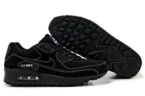Mens Nike Air Max 90 Black On Sale