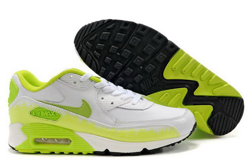 Mens Nike Air Max 90 Green Black White Greece