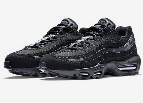 Mens Nike Air Max 95 All Black 40-47 Outlet