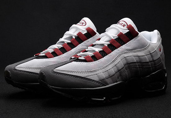 Mens Nike Air Max 95 Grey Wine 40-45 Ireland