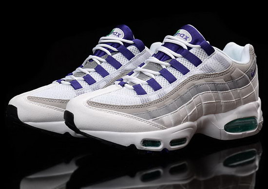 Mens Nike Air Max 95 White Purple 40-45 France