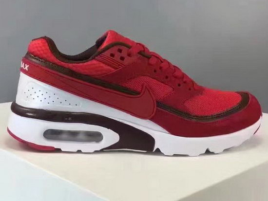 Mens Nike Air Max Bw Big Red Canada