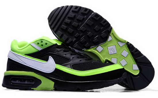 Mens Nike Air Max Bw Black Green White Sale