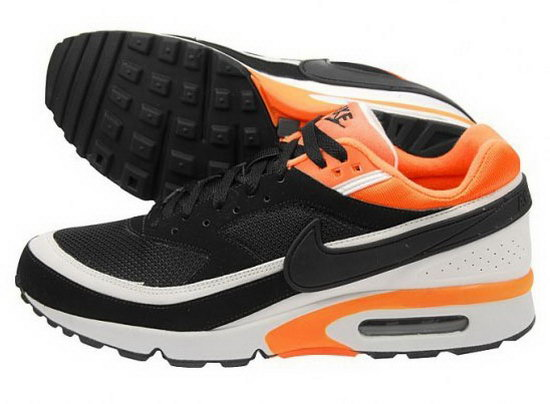 Mens Nike Air Max Bw Black Orange White Online Store