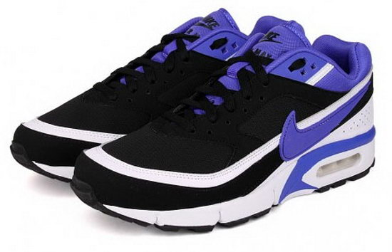 Mens Nike Air Max Bw Black Purple Portugal