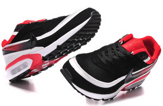 Mens Nike Air Max Bw Black Red Outlet Store