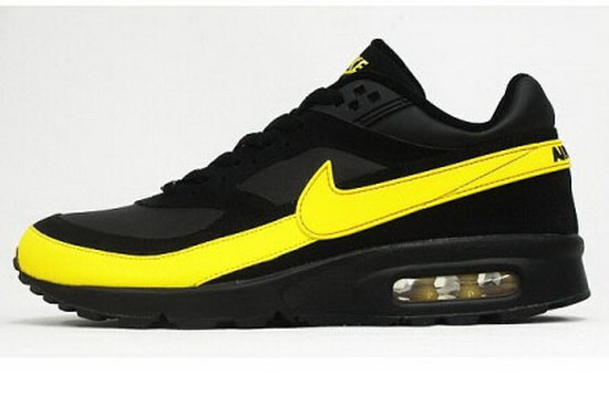 Mens Nike Air Max Bw Black Yellow Japan