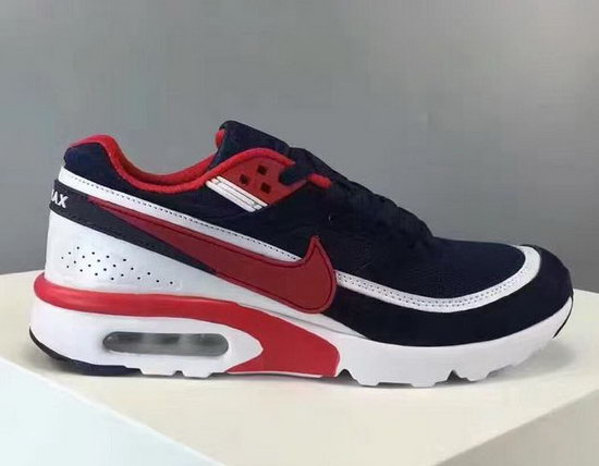 Mens Nike Air Max Bw Dark Blue Red Poland