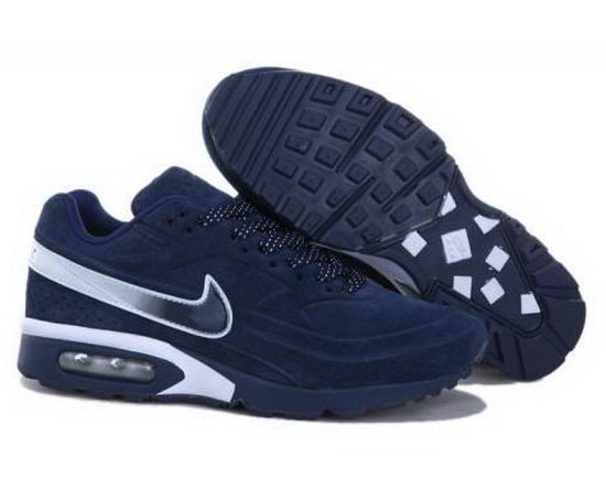 Mens Nike Air Max Bw Dark Blue White Promo Code