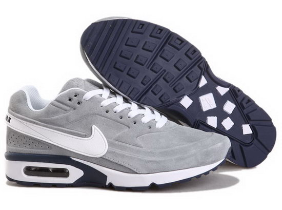 Mens Nike Air Max Bw Grey White Korea