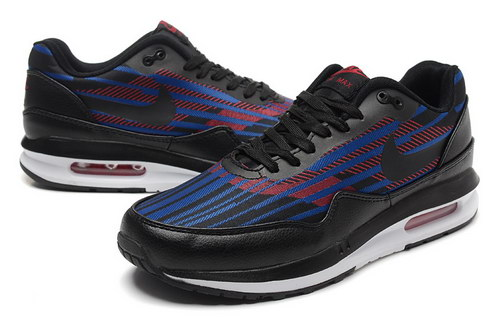 Mens Nike Air Max Lunar 1 Black Blue Red Sale