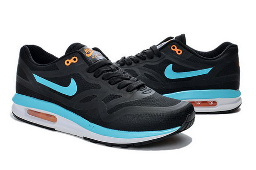 Mens Nike Air Max Lunar 1 Black Blue For Sale