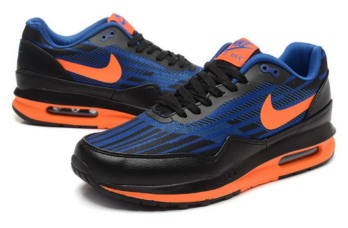 Mens Nike Air Max Lunar 1 Black Orange Blue Usa