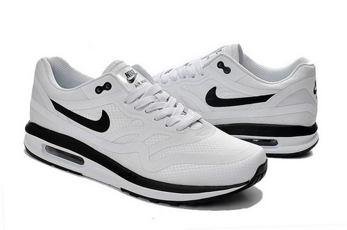 Mens Nike Air Max Lunar 1 Grey White Black Clearance