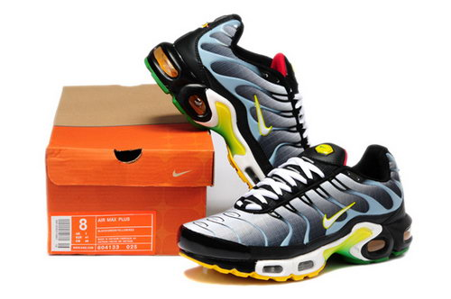 Mens Nike Air Max Tn Black White Yellow Best Price