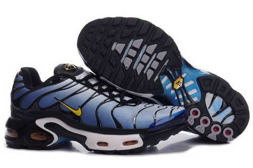 Mens Nike Air Max Tn Black Yellow Blue Discount