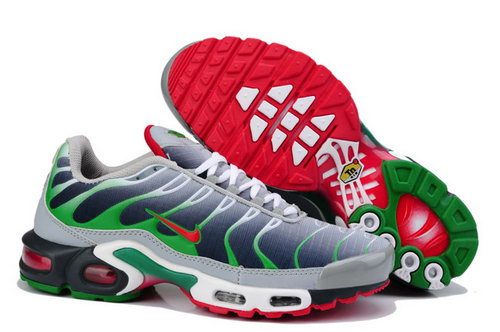 Mens Nike Air Max Tn Grey Green Red Online Shop