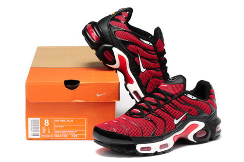 Mens Nike Air Max Tn Red Black White New Zealand