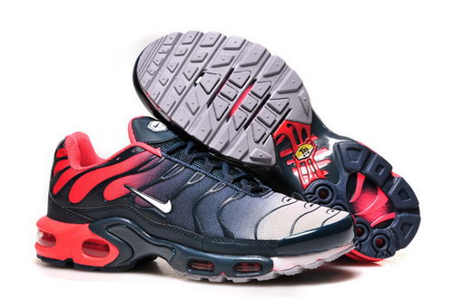 Mens Nike Air Max Tn Red Dark Blue White Low Price