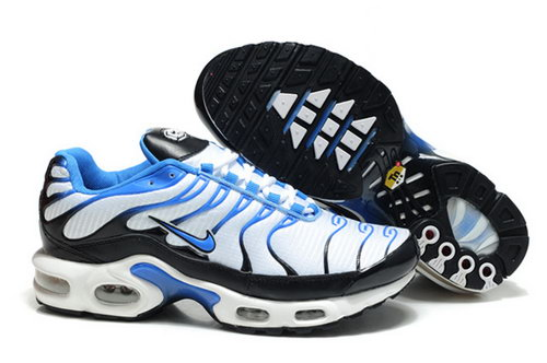 Mens Nike Air Max Tn White Blue Black 2 Wholesale