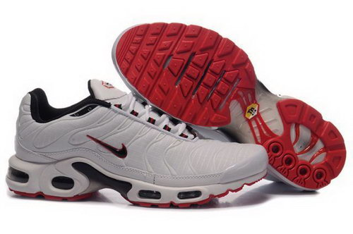 Mens Nike Air Max Tn White Red Online Store