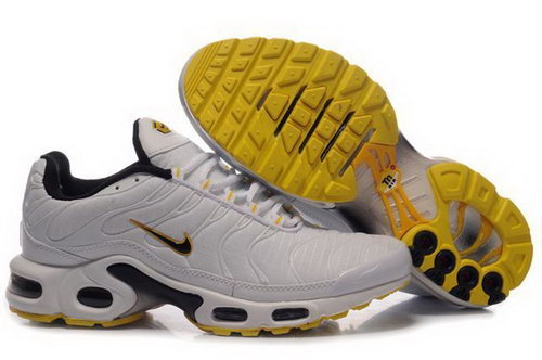 Mens Nike Air Max Tn White Yellow Outlet Store