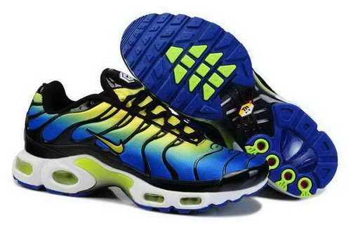 Mens Nike Air Max Tn Yellow Black Blue Promo Code
