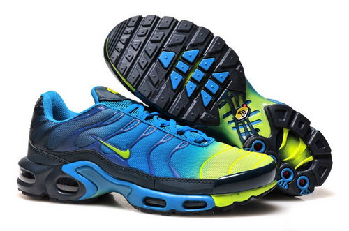 Mens Nike Air Max Tn Yellow Blue Black Australia