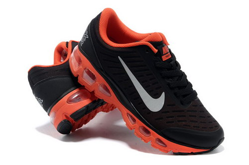 Mens Nike Air Max Tailwind 5 Black Orange Cheap