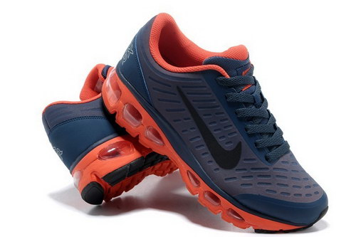 Mens Nike Air Max Tailwind 5 Dark Blue Orange
