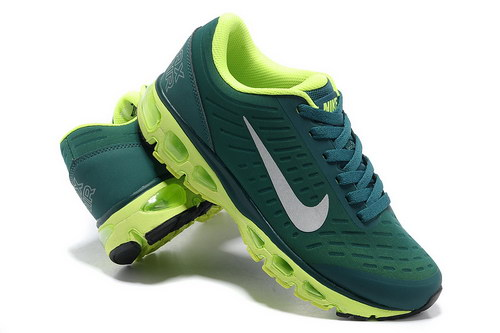 Mens Nike Air Max Tailwind 5 Green White Outlet Online