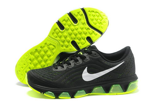 Mens Nike Air Max Tailwind 6 Black Green Factory Outlet