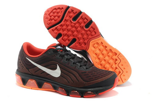 Mens Nike Air Max Tailwind 6 Black Orange Red New Zealand