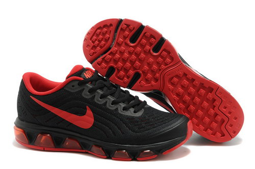 Mens Nike Air Max Tailwind 6 Black Red Factory