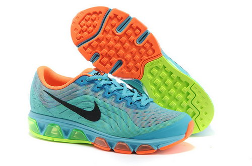Mens Nike Air Max Tailwind 6 Blue Black Orange Low Price