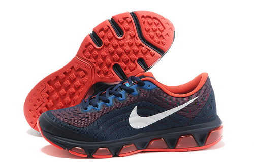 Mens Nike Air Max Tailwind 6 Dark Blue Red Sweden