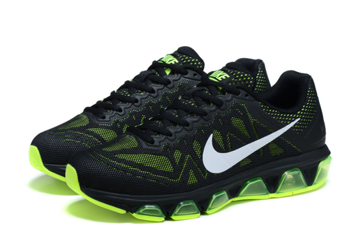 Mens Nike Air Max Tailwind 7 Blac Green Outlet Store