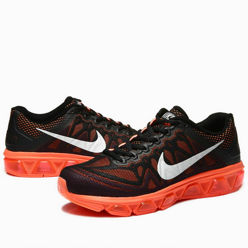 Mens Nike Air Max Tailwind 7 Black Orange Promo Code