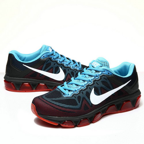 Mens Nike Air Max Tailwind 7 Black Red Blue Australia