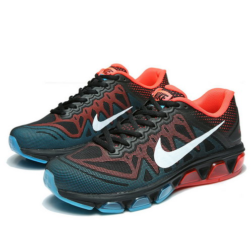 Mens Nike Air Max Tailwind 7 Black Red Clearance