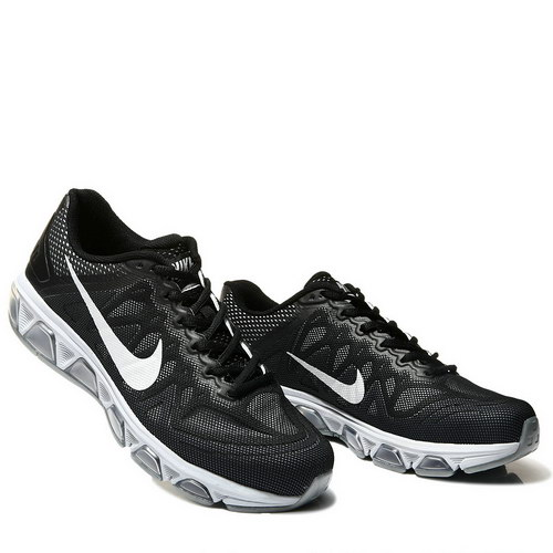 Mens Nike Air Max Tailwind 7 Black Sliver Korea