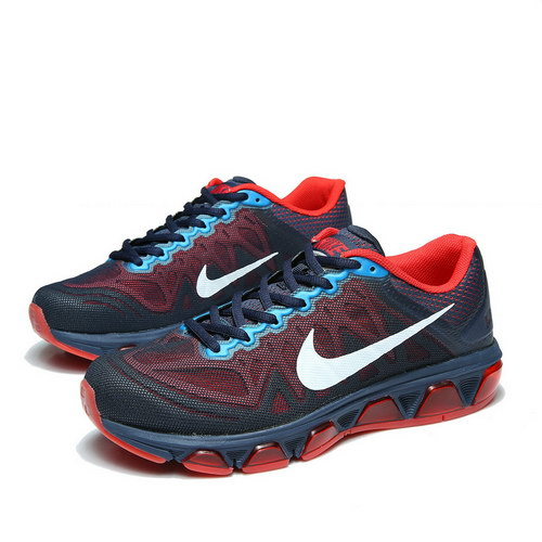 Mens Nike Air Max Tailwind 7 Dark Blue Red Netherlands