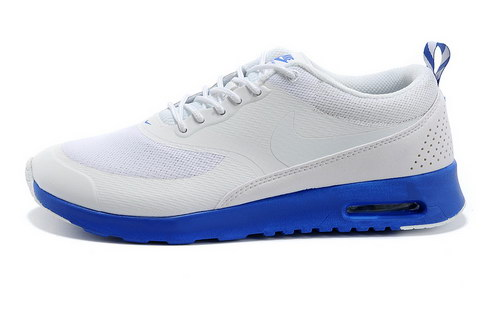 Mens Nike Air Max Thea White Blue Wholesale