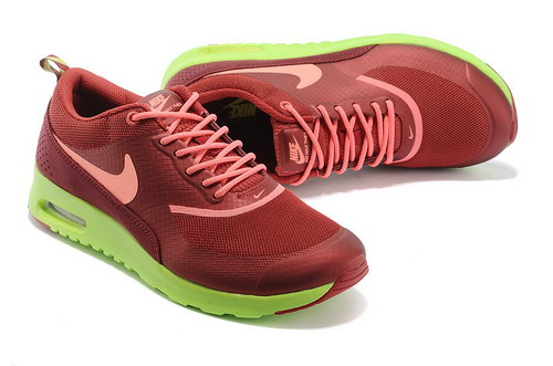 Mens Nike Air Max Thea Wine Red Green Switzerland