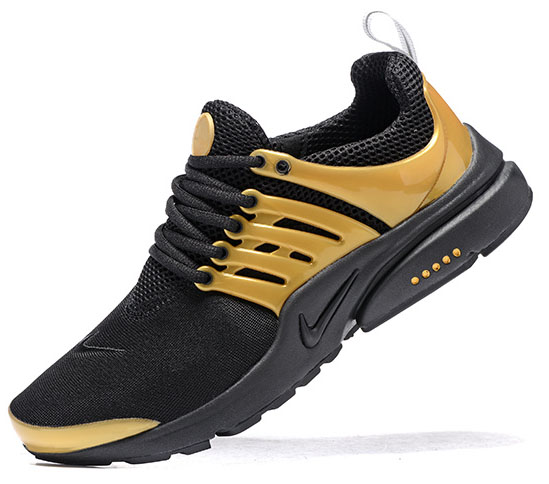 Mens Nike Air Presto Black Gold 40-46 Australia